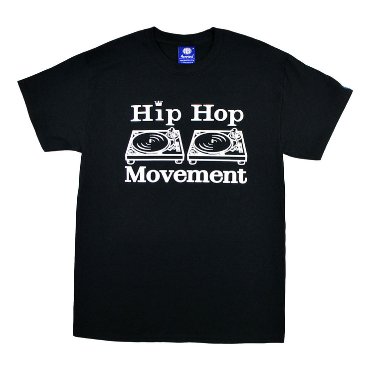 Hip Hop Movement Teeshirt (Black)