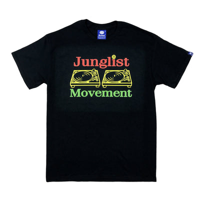 Jah-List Movement Teeshirt (Black)