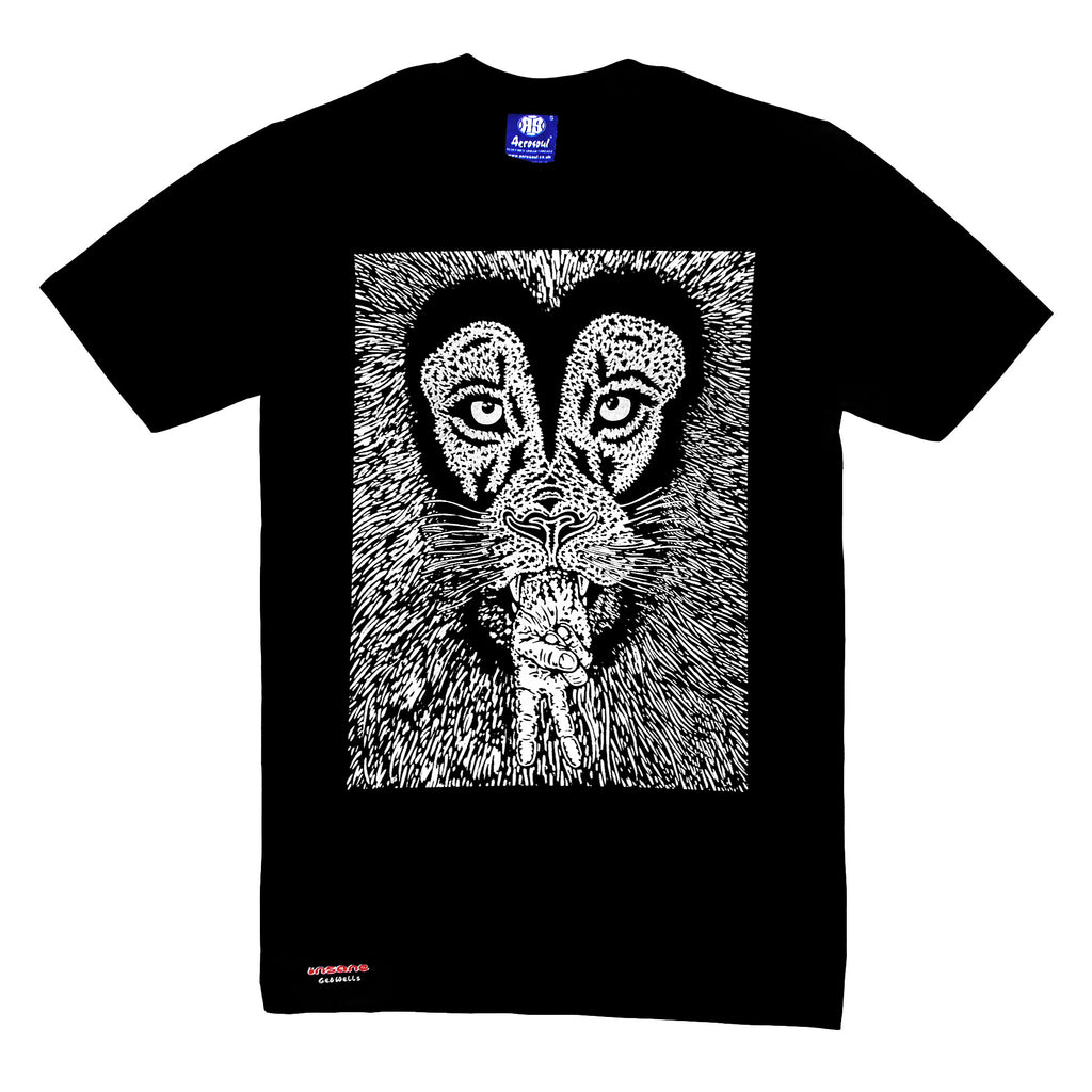 "Insane X Aerosoul ""Peaceful Lion"" Limited Edition Collab (Black)"
