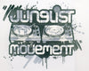 Junglist Movement - Heavyweight Baseball T-Shirt Mitch Remix 1 (F/Green/White)