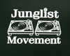 Junglist Movement T-shirt (Forest Green)