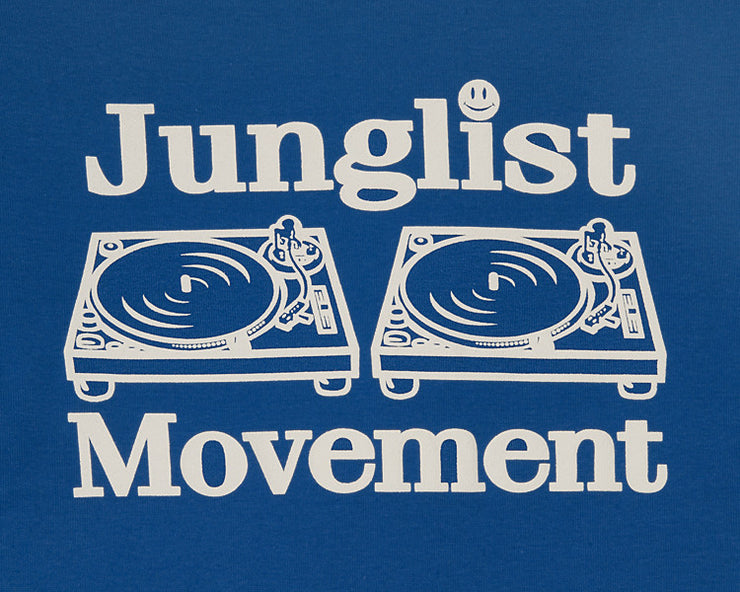 Junglist Movement Babe T-Shirt ( Royal Blue )