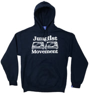 Junglist Movement Heavyweight Hoodie (Dark Navy)