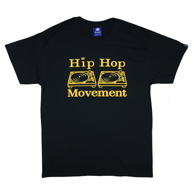 Hip Hop Movement Teeshirt (Yellow/Black)