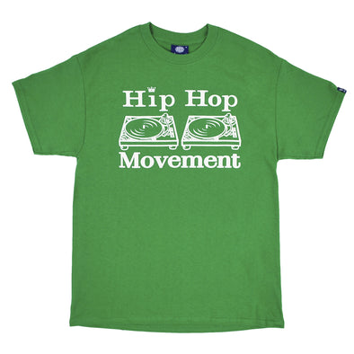 Hip Hop Movement Teeshirt (Irish Green )