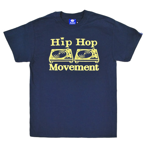 Hip Hop Movement Teeshirt (Navy Blue)