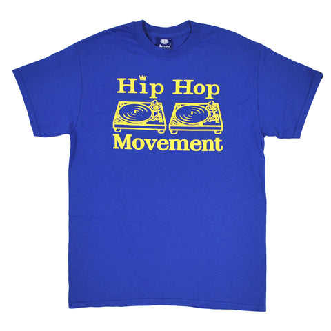 HipHop Movement Teeshirt (Royal Blue)
