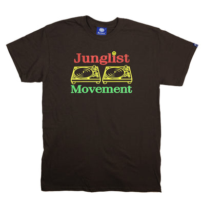 Jah-List Movement Teeshirt (Chocolate Brown)