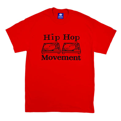 Hip Hop Movement Teeshirt (Red/Black)