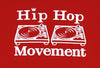 Hip Hop Movement Teeshirt (Red)