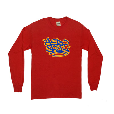 Aerotag Long Sleeve T-Shirt (Red)