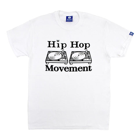 Hip Hop Movement Teeshirt (White)
