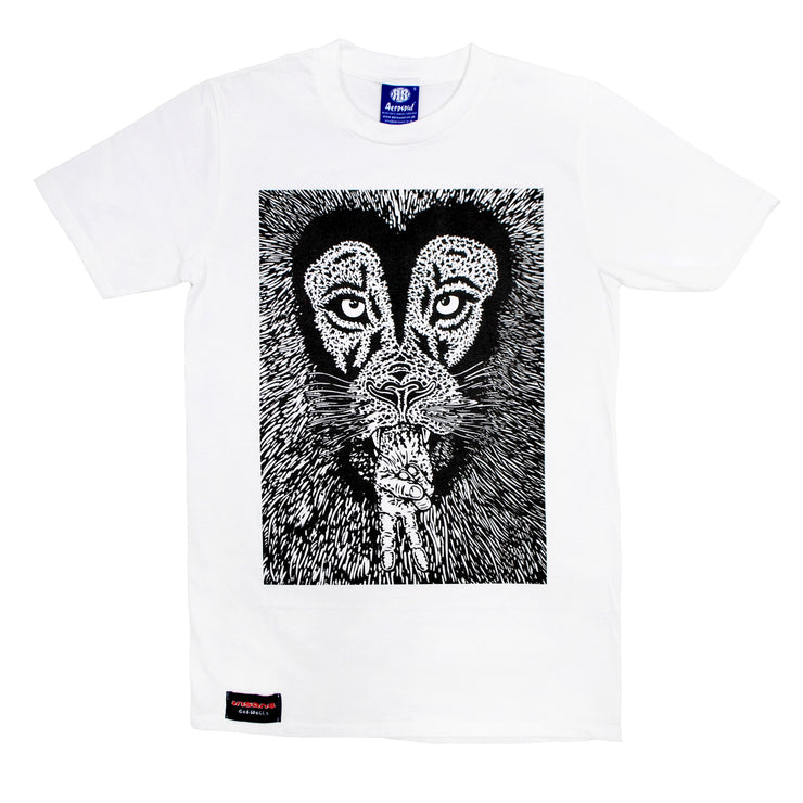 "Insane X Aerosoul ""Peaceful Lion"" Limited Edition Collab (White)"