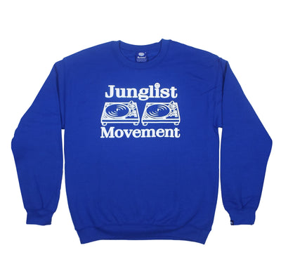 Junglist Movement - Heavyweight Sweatshirt (Royal)