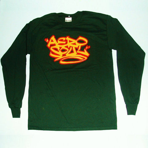 Aerotag Long Sleeve T-Shirt (Forest Green)