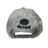 Aerosoul Junglist Movement Embroidered Snapback ( Grey )