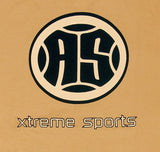 A.S. Xtreme Long Sleeve T-Shirt - Black Logo (Beige)