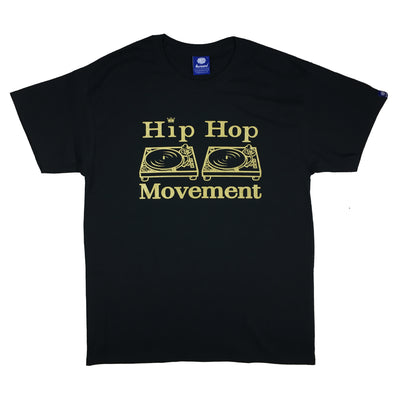 Hip Hop Movement Teeshirt (Gold/Black)