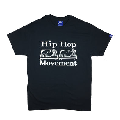 Hip Hop Movement Teeshirt (Silver/Black)