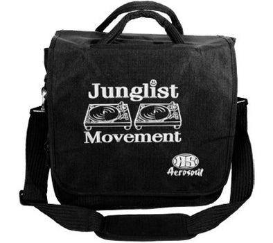 Junglist Movement Record Bag (Black)