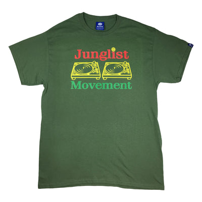 Jah-List Movement Teeshirt (Military Green)