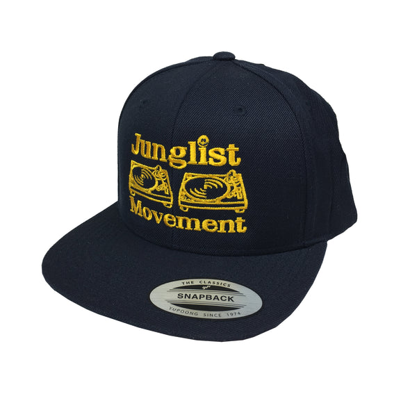 Aerosoul  Junglist Movement Embroidered Snapback ( Navy )