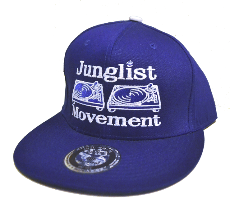 Aerosoul Junglist Movement Embroidered Snapback  (Royal Blue)
