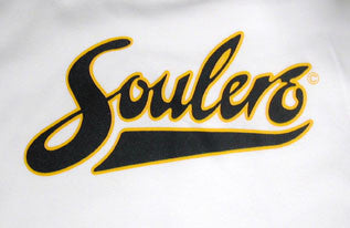 Soulero Baseball Babe T-Shirt (Navy/White)