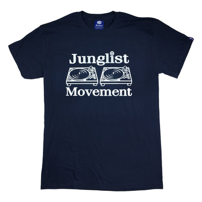 Junglist Movement T-shirt (Navy)