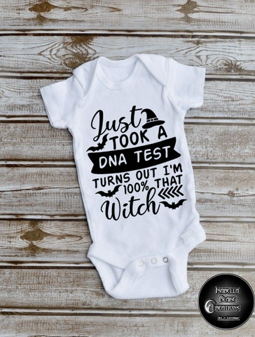 100% Witch Baby Body-vest  2