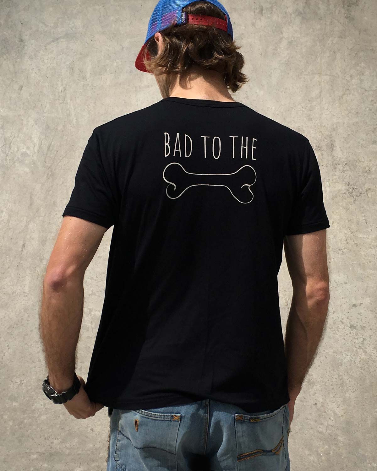 RideGuard Dirt Punks Bad To The Bone T-Shirt Tee