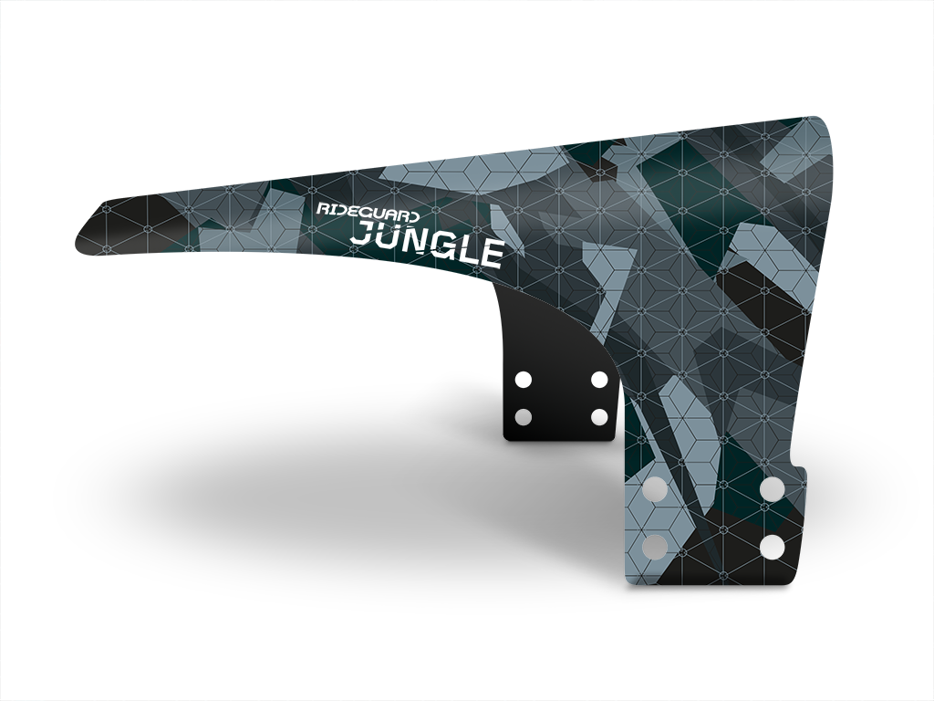 Rideguard Dink Jungle Ash Clip On Kids Mudguard Fender