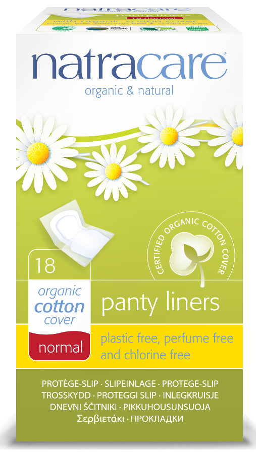 15cm標準型有機棉護墊(18片)Natracare Panty Liners - Machuland hk