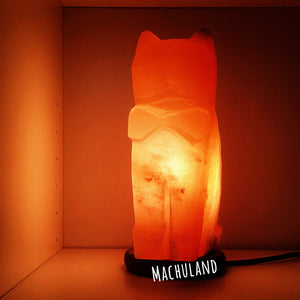 貓岩鹽燈 Cat Salt Lamp (7磅) - Machuland hk