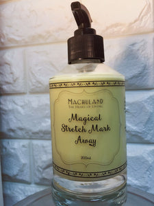 有機紝娠紋護理膏 Magical Stretch Mark Away Cream 200ml - Machuland hk