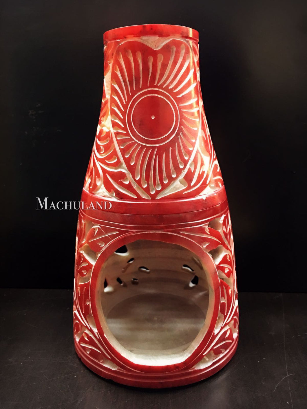 香薰石爐 (紅心) Aroma Stone Diffuser / Burner (Red Heart) - Machuland hk