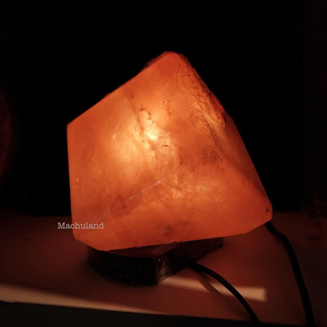 斜方形 Tilted Block Salt Lamp (9磅) - Machuland hk