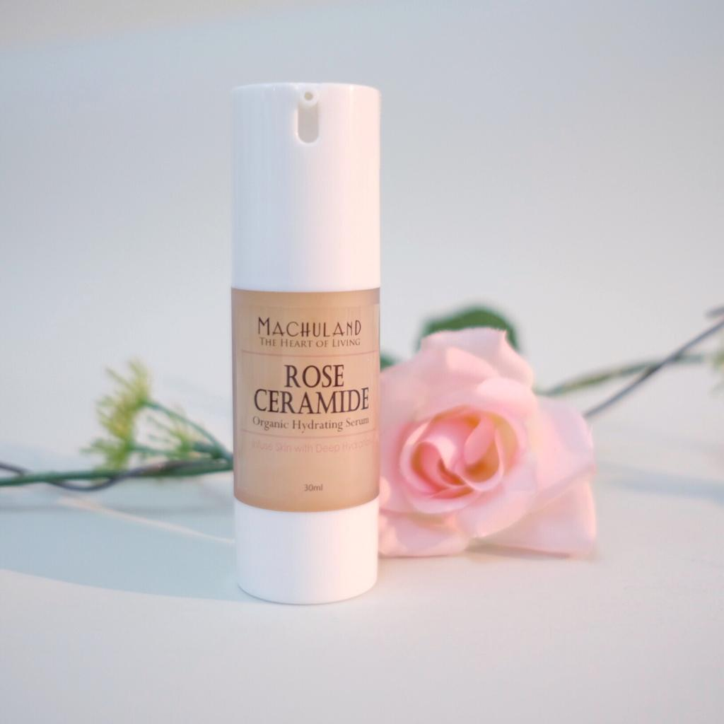 玫瑰分子酊水凝精華 Rose Ceramide Hydrating Serum - Machuland hk