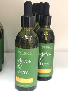 Detox and Firming Body Massage Oil 排毒緊緻按摩油 - Machuland hk