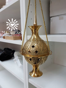 黃銅吊爐 Hanging Brass Incense Burner - Machuland hk