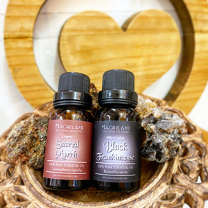 期間限定-乳香精油+沒藥精油 Oman Frankincense & Myrrh Essential Oil - Machuland hk
