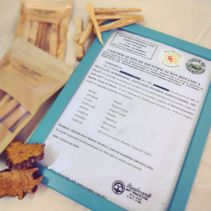 秘魯聖木香枝 Palo Santo Incense Sticks - Machuland hk
