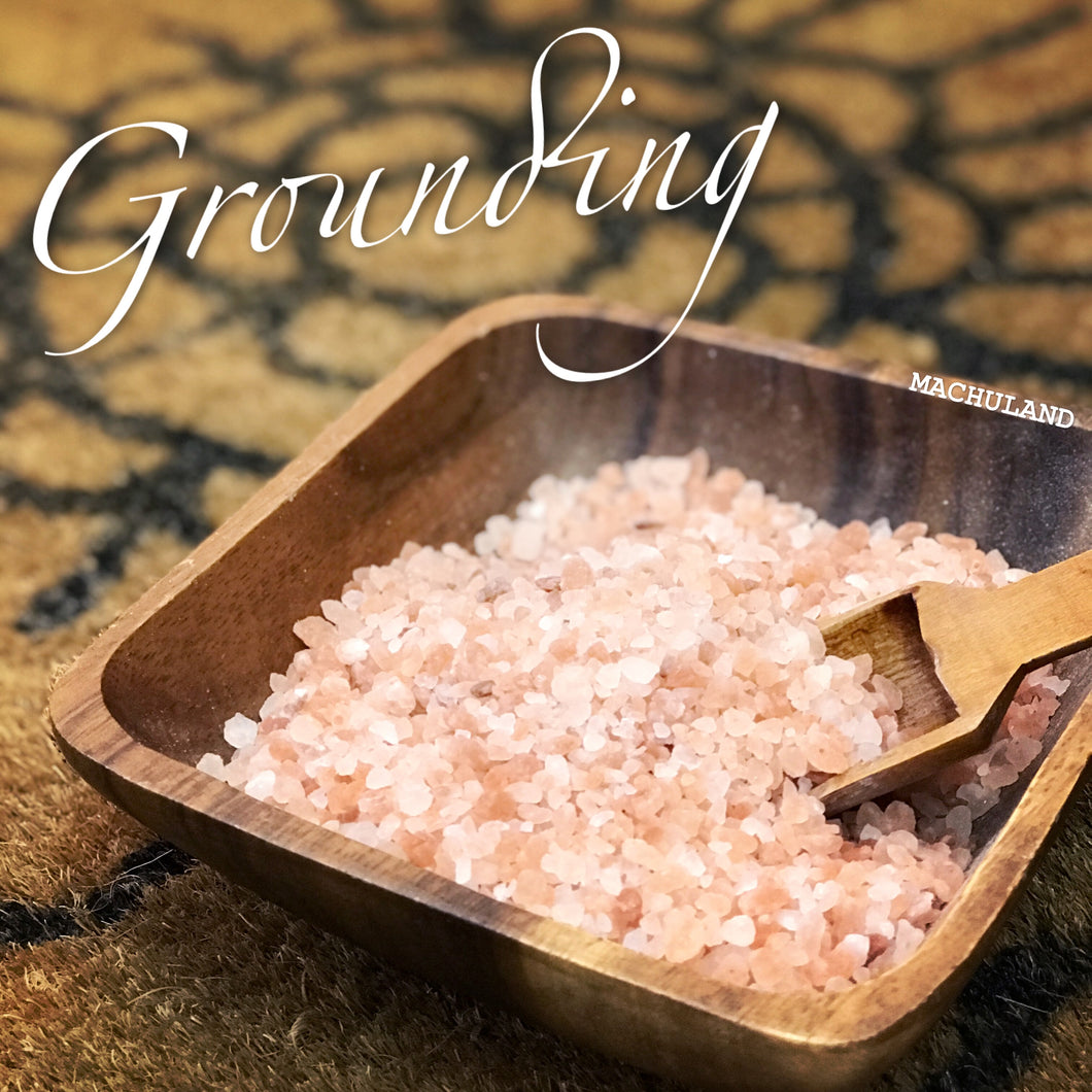 喜瑪拉雅山足浴鹽 Himalayan Foot Soak Salt ~ Grounding 50g - Machuland hk