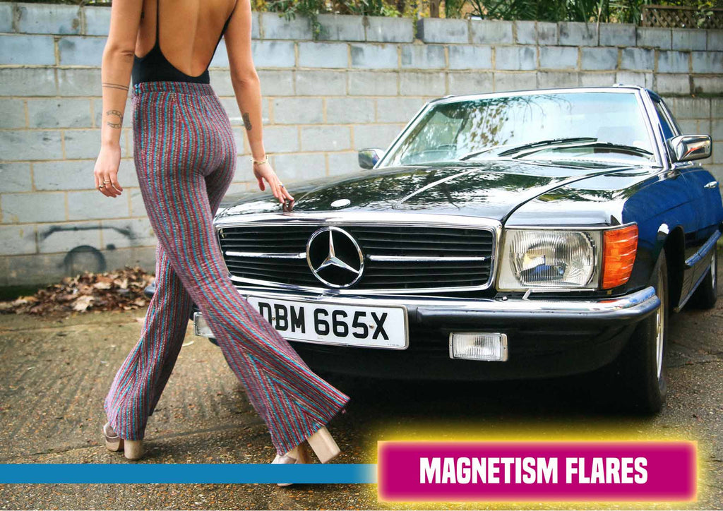Magnetism Striped Flares