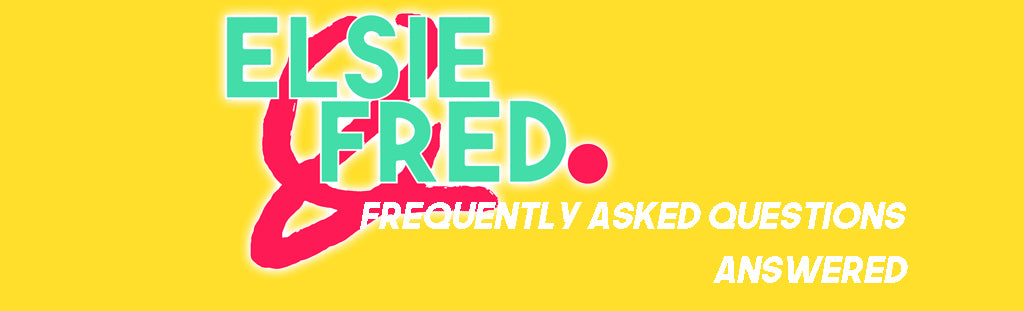 FAQ Elsie and Fred Banner