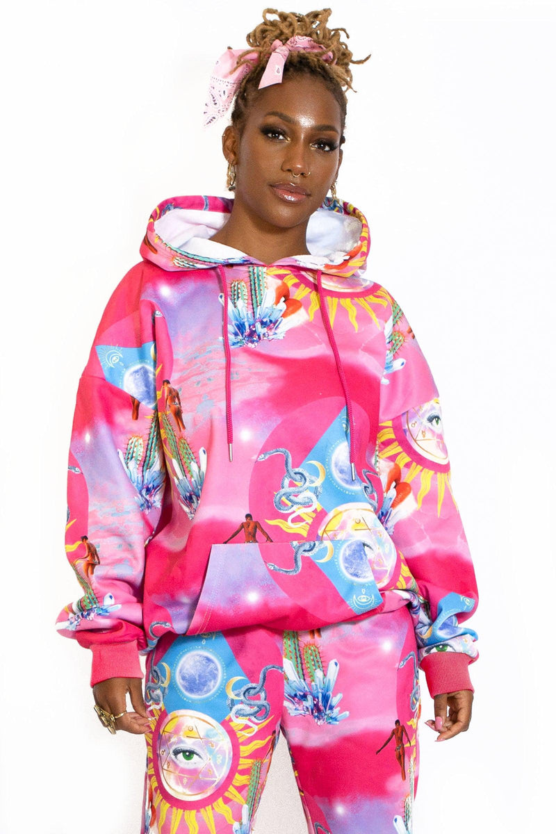 Higher Priestess Oversized Hoodie - Elsie & Fred