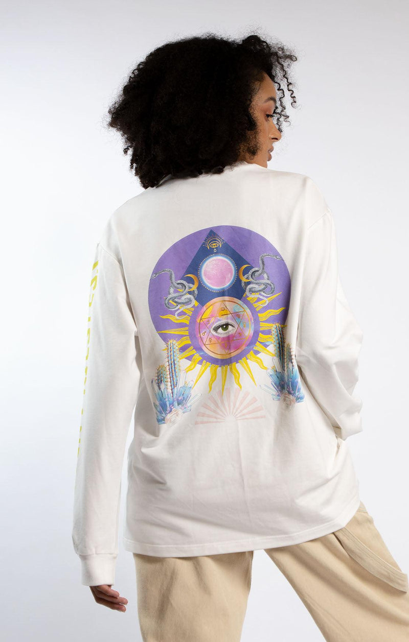 Higher Priestess Long Sleeve Skater Tee