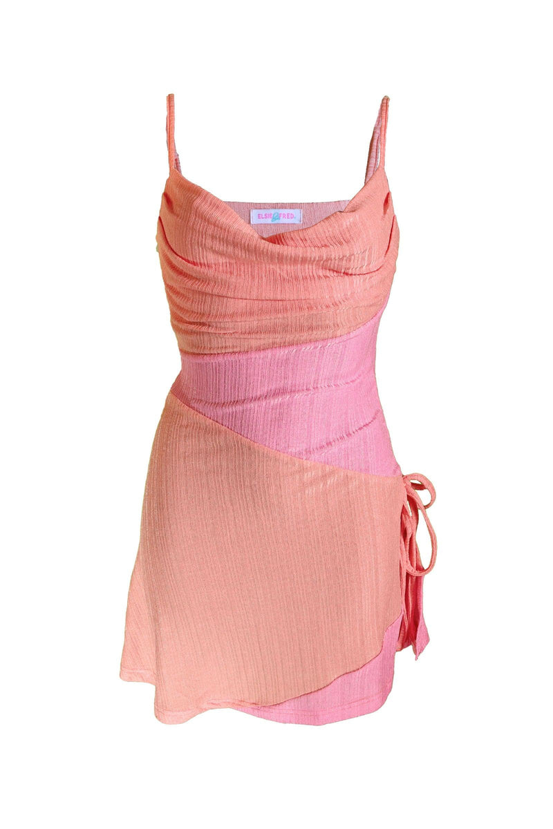 'Lawless' Patchwork Cami Dress - Elsie & Fred