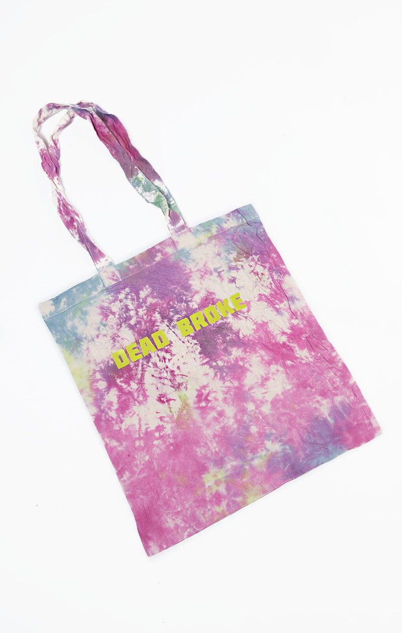 E.F.C Hand Dyed Slogan Tote Bag