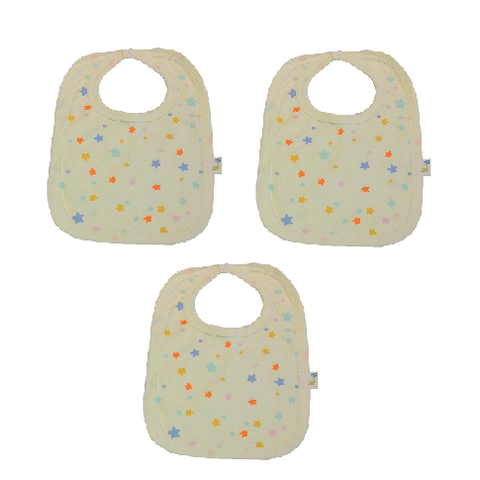 Star Baby Bib Pack of Three